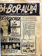 BI-BOP-ALULA BONVI RED RONNIE N.2 1984 RIVISTA ROCK/TRASVERSALE CORNO KISS