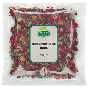 Burgundy Rose Buds 250g - Free UK Delivery