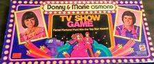 Donny & Marie Osmond Tv Show Board Game 🌟1976 Vintage Mattel Rare Complete Game