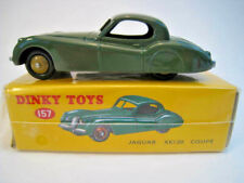 Jaguar XKI20 Coupè  in grün  DINKY TOYS 157  NEU  OVP