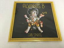 "ALVARIUS B - Chin Spirits Vinyl LTD 10"" LP MINT/MINT ALAN BISHOP SUN CITY GIRLS"