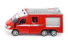 2113 Siku 1:50 Mercedes Sprinter 3 achser Feuerwehr Fire pompiers brannvesenet