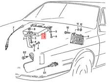 Genuine Knock Sensor With Wiring Harness Green AUDI VW 100 054905377A