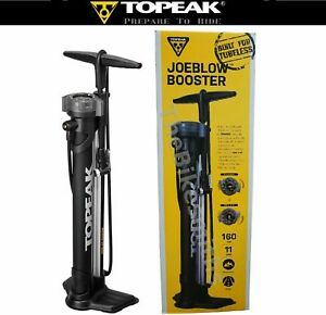 Topeak Joe Blow Booster Charge Tubeless Tire Compatible Pump Fat Bike DX3  BST3