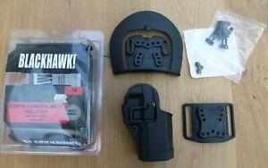BLACKHAWK 415001 BK-R CQC , Carbon-Fiber Holster , schwarz für Glock 26 / 27 OVP