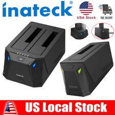 "Inateck USB 3.0 SATA 2.5""/3.5"" HDD SSD Hard Drive Docking Station"
