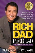 Rich Dad Poor Dad Robert T. Kiyosaki Paperback Parenting Personal Finance Eng