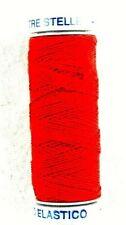 Näh-Gummi Elastisches Nähgarn   von Tre Stelle 10 m Rot