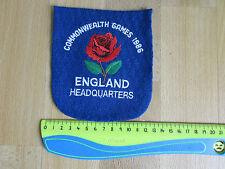 Giochi del Commonwealth 1986 Inghilterra sede ORIGINALE Sew on Blazer BADGE