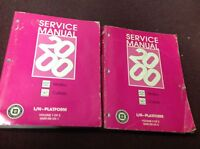 2000 Chevrolet CHEVY Malibu Service Shop Repair Workshop Manual Set FACTORY OEM
