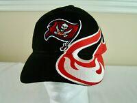 Tampa Bay Buccaneers Adjustable Fit Black Red Cap NEW