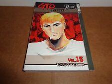 GTO: Great Teacher Onizuka Vol. 15 Manga Book in English