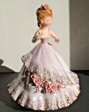 Josef Originals Beautiful Engagement Girl with Ring - Large 8 Inch - Label