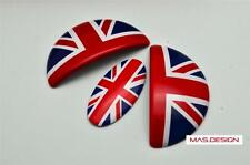 Union Jack MINI Cooper Aluminum Door Emblem for R55 R56 R57 R58 R59 JCW