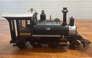 Aristocraft D&RGW Colorado #12 G Scale Locomotive Train Engine.