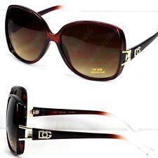 Womens DG Eyewear Designer Fashion Butterfly Square Sunglasses Retro Wrap Shades