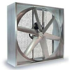 "AGRICULTURAL EXHAUST FAN - Belt Driven - 54"" - 6 Wing"