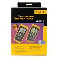 FLUKE 51 II Single-Input Thermocouple Digital Thermometer | Inc. VAT