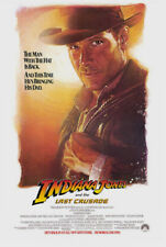 Indiana Jones And The Last Crusade Movie Poster 1 Sided Original Advance 27x41