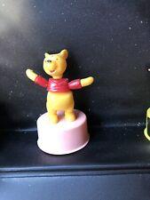 Vintage Walt Disney Push Puppet Winnie The Pooh Kohner Toys New stock