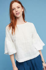 Anthropologie Evamarie Bell-Sleeve Top NWT new size S