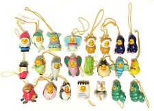 Winnie the Pooh Peek A Pooh Toys Keychains Lot Of 23 Circus Insects Sea Animals