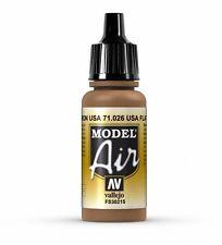 Vallejo 71.026 Flat Brown MODEL AIR peinture Acrylique 17 ml Bouteille En plastique Poste 1st