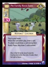 3x Pie Family Rock Farm - 145 - My Little Pony Canterlot Nights MLP CCG