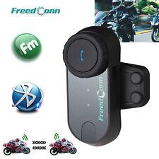 T-COMOS BT Interphone Motorcycle Bluetooth Helmet Intercom Headset MP3 FM Radio
