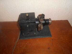 très ancien projecteur de film fixe