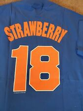Darryl Strawberry New York Mets Majestic Cooperstown Collection Shirt Size L