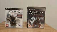 Assassins Creed 3 + Revelations - 2 Game Bundle (Sony Playstation 3, PS3)