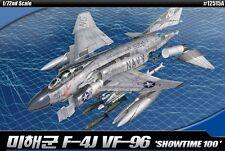 Academy 12515 1/72 U.S. Navy F-4J Vf-96 Showtime 100 Mcp Plastic Model Kit