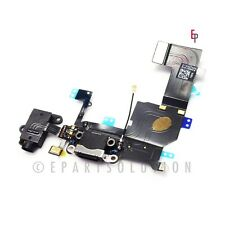 Black iPhone 5S USB Charger Charging Port Dock Connector Replacement Part