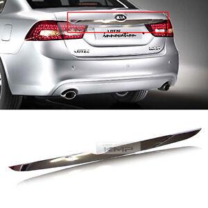Rear Chrome Trunk Point Line Garnish Molding For KIA 2009 2010 Optima / Lotze