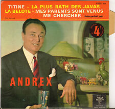 "ANDREX ""TITINE"" 60'S EP TRIANON 4585"