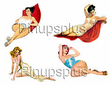 Pinup Girl Waterslide Decals for Guitars & More #70