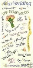 Wedding Sayings Stickers - Me & My Big Ideas