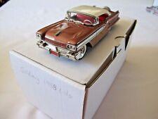 GOLDVARG 1958 Oldsmobile 4 Door Hardtop Their Last White Metal Model 1/43  MIB