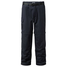 Craghoppers Mens Kiwi Quick Drying Zip Off Convertible Trousers 44% OFF RRP