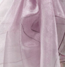 ORGANZA FABRIC 1.5M WIDTH SOLD PER METER  70 COLOURS WEDDINGS CRAFT SWAGGING