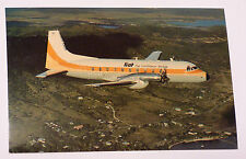 LIAT Caribbean Airlines HS 748-243 Airplane Postcard