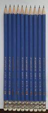 10 x Staedtler Bleistift mit Latex Radiergummi norica 132 46  HB2