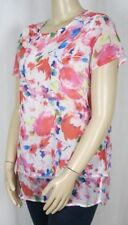 Career Floral Millers Falls Company Plus Size Tops for Women
