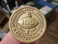 1869-1969 Interscholastic Football Centennial H.S.A.A. Medal, Hi-School Athletic