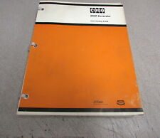 Case 880R Excavator Parts Catalog Manual A1336 1979