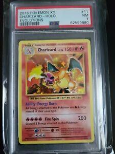 2016 Pokemon XY Evolutions 11/108 Charizard Holo PSA 7