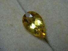 0.58ct rare Heliodor gem Yellow Beryl Golden Gemstone Brazil pear shape
