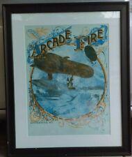 Arcade Fire - 2005 Winter Tour Concert Poster by Burlesque