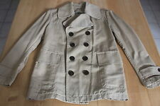 NWT AUTH BURBERRY LONDON KHAKI TRENCH COAT - MEDIUM